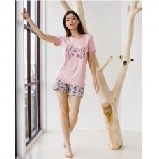 Пижама женская с шортами 8857
