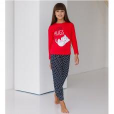 Пижама для девочки с штанами 8984