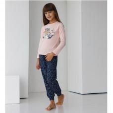 Пижама для девочки с штанами 8986