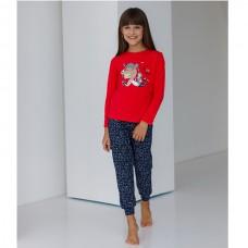 Пижама для девочки с штанами 8987