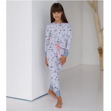 Пижама для девочки с штанами 8988