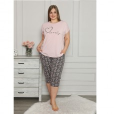 Женская пижама с капри 9037