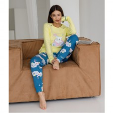 Пижама женская с штанами 9046
