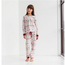 Пижама для девочки с штанами 9069