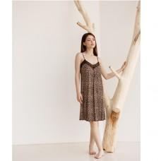 Сорочка женская леопардовая 8831