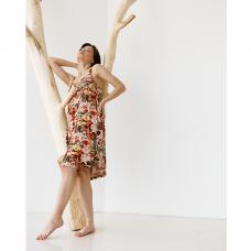 Сорочка женская Цветочный принт 8834