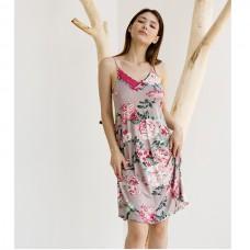 Сорочка женская с Пионами 8861