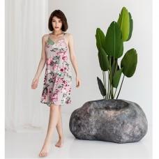 Сорочка женская с Пионами 8862