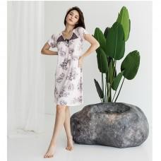 Сорочка женская цветочная 8983