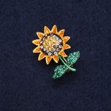 Брошь Цветок Подсолнух 8306