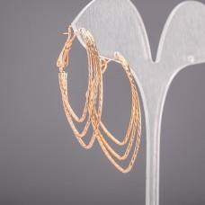 Серьги кольца Xuping 4474