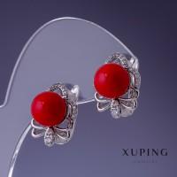 Серьги Xuping с жемчугом 2779