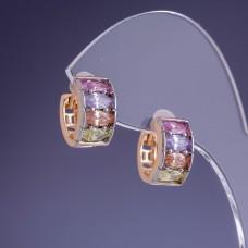Серьги Xuping Кольца 2911
