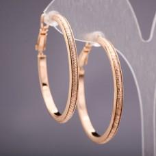Серьги кольца Xuping 3262