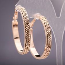 Серьги кольца Xuping 3263