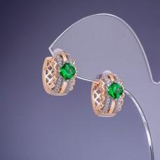 Серьги кольца Xuping 3384